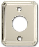Traditional Rectangular Surface Mounted Rose in (Traditional Rectangular Surface Mounted Rose - Solid Brass) Product Image