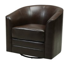 Emerald Home Milo Swivel Chair Dark Brown U5029c-04-55