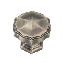 1-5/16 In. Verona Knob - Antique Pewter Nickel / regular