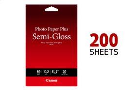 Canon Photo Paper Plus Semi-Gloss 5x7 - 200 Sheets