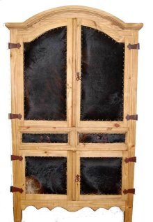 Cowhide Armoire