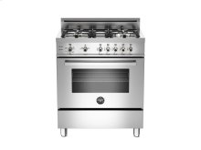 30 4-Burner, Gas Oven LP Stainless