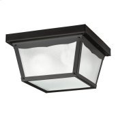 Outdoor Miscellaneous Collection Outdoor Flush Mt 2Lt BK