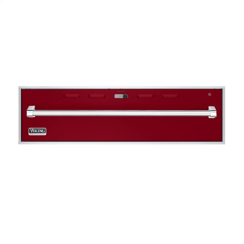 """Apple Red 36"""" Professional Warming Drawer - VEWD (36"""" wide)"""