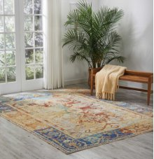 Delmar Dlm02 Cream Rectangle Rug 2' X 3'