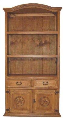 Bookcase W/2dr 2 Dwr W/stars