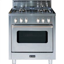 "Stainless Steel 30"" Single Oven Gas Range"