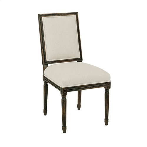 Artisans Shoppe French Side Chair Black Forest