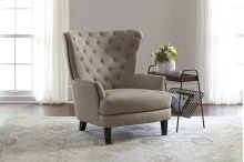 Conner Wingback Chair- Easy Living Charcoal
