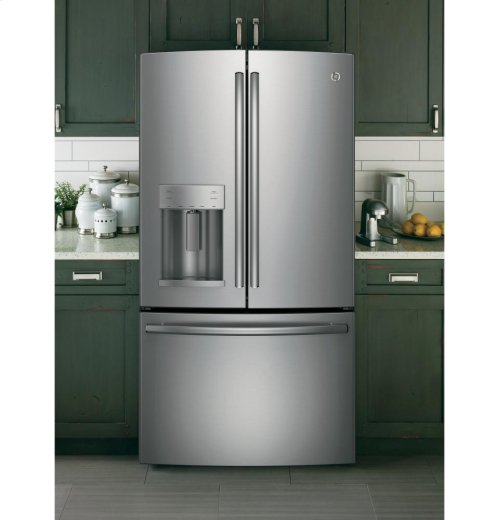 GE® ENERGY STAR® 27.7 Cu. Ft. French-Door Refrigerator