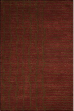 Luster Wash Sw15 Brick Rectangle Rug 4' X 6'