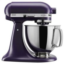 Artisan® Series 5 Quart Tilt-Head Stand Mixer - Matte Black Violet