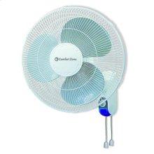 CZ16W 16-inch Wall Mount Fan, White
