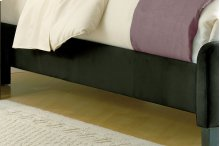 Universal Fabric Side Rail - King - Pewter