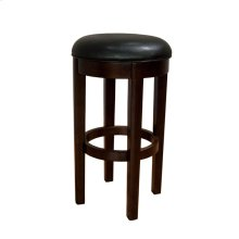 30 Seat Height Swivel Stool-Bk