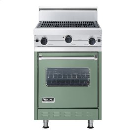 """Mint Julep 24"""" Char-Grill Companion Range - VGIC (24"""" wide range with char-grill, single oven)"""