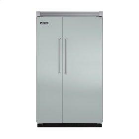 "Sea Glass 48"" Quiet Cool™ Side-by-Side Refrigerator/Freezer - VISB Tru-Flush™ (48"" wide)"