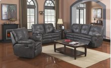 Comfort Zone 3pc Reclining Living Room Collection