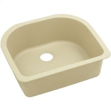 "Elkay Quartz Classic 25"" x 22"" x 8-1/2"", Single Bowl Undermount Sink, Sand"