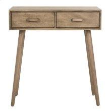 Dean 2 Drawer Vanity Desk - Desert Brown