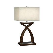 Black Eucalyptus Table Lamp