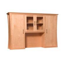 Loft Hutch Top for Desk or Credenza