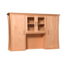 Loft Hutch Top for Desk or Credenza