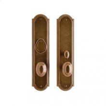 "Ellis Entry Set - 3"" x 13"" Silicon Bronze Brushed"