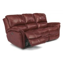 Dominique Leather Power Reclining