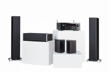 BP9020 Towers, CS9040 Center Channel, SR9040 Surround Speakers and Denon AVR-X2400H AV Receiver