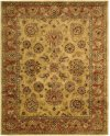JAIPUR JA28 GOLD RECTANGLE RUG 7'9'' x 9'9''