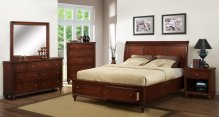 Westlake Bed w/ Storage - Queen