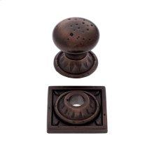 "Old World Bronze 1-3/8"" Pompeii Mushroom Knob"