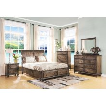 FALLBROOK KING STORAGE BED
