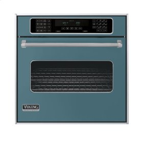"Iridescent Blue 30"" Single Electric Touch Control Premiere Oven - VESO (30"" Wide Single Electric Touch Control Premiere Oven)"