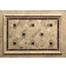 "Dots 2"" - Backsplash Silicon Bronze Brushed"