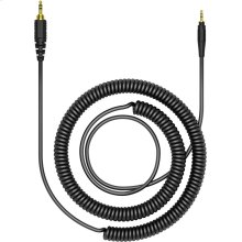 47.24 in coiled cable for the HRM-7, HRM-6 and HRM-5 headphones