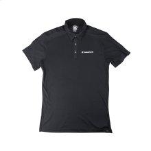 Black Polo w/ White Rockford Fosgate Logo (L)