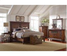 Cascade Panel Queen Bed