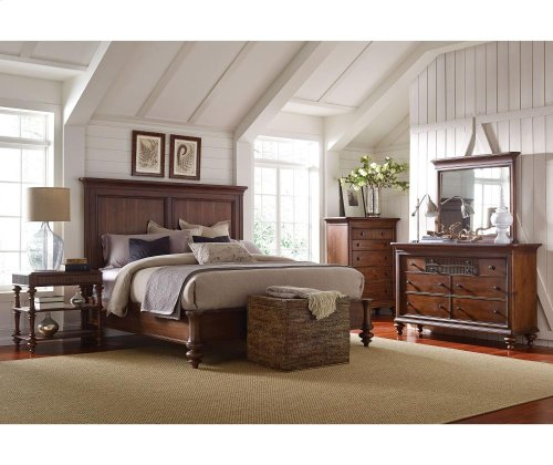 Cascade Panel Queen Bed