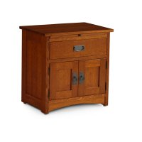 Prairie Mission Nightstand with Doors Product Image