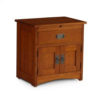 Prairie Mission Nightstand with Doors