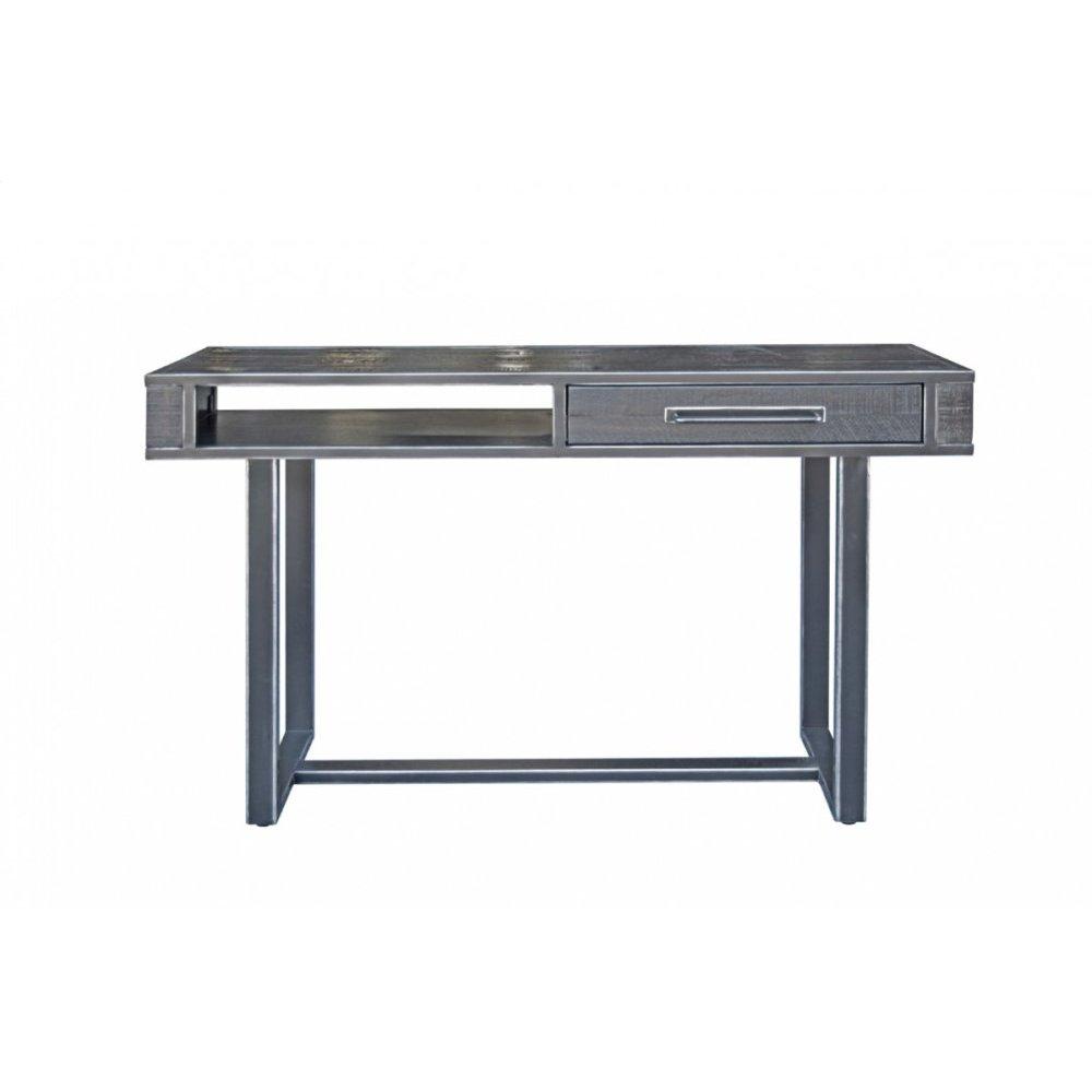Modrest Hardy Modern Black Acacia Console Table