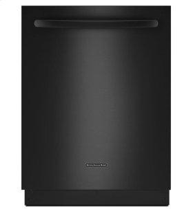 KitchenAid® 24-Inch 5-Cycle/6-Option Dishwasher, Architect® Series II - Black