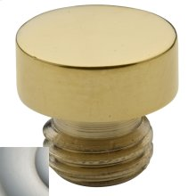 Satin Nickel Button Finial