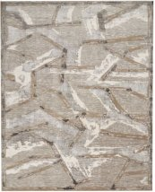 CHRISTOPHER GUY WOOL COLLECTION CGW16 SILVER SQUARE RUG 8' x 8'
