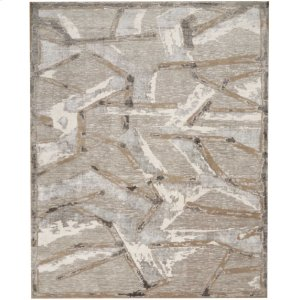 Christopher Guy Wool Collection Cgw16 Silver Rectangle Rug 12' X 15'