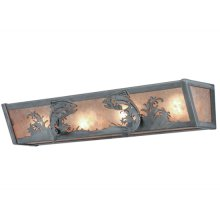 """24""""W Leaping Trout Vanity Light"""