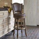 Dawson Swivel Barstool - Armless Product Image