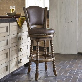 Dawson Swivel Barstool - Armless
